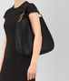 BOTTEGA VENETA MEDIUM LOOP BAG IN NERO INTRECCIATO NAPPA Shoulder or hobo bag D lp