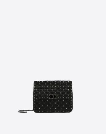 VALENTINO Rockstud Spike Medium Chain Bag 45350277OK