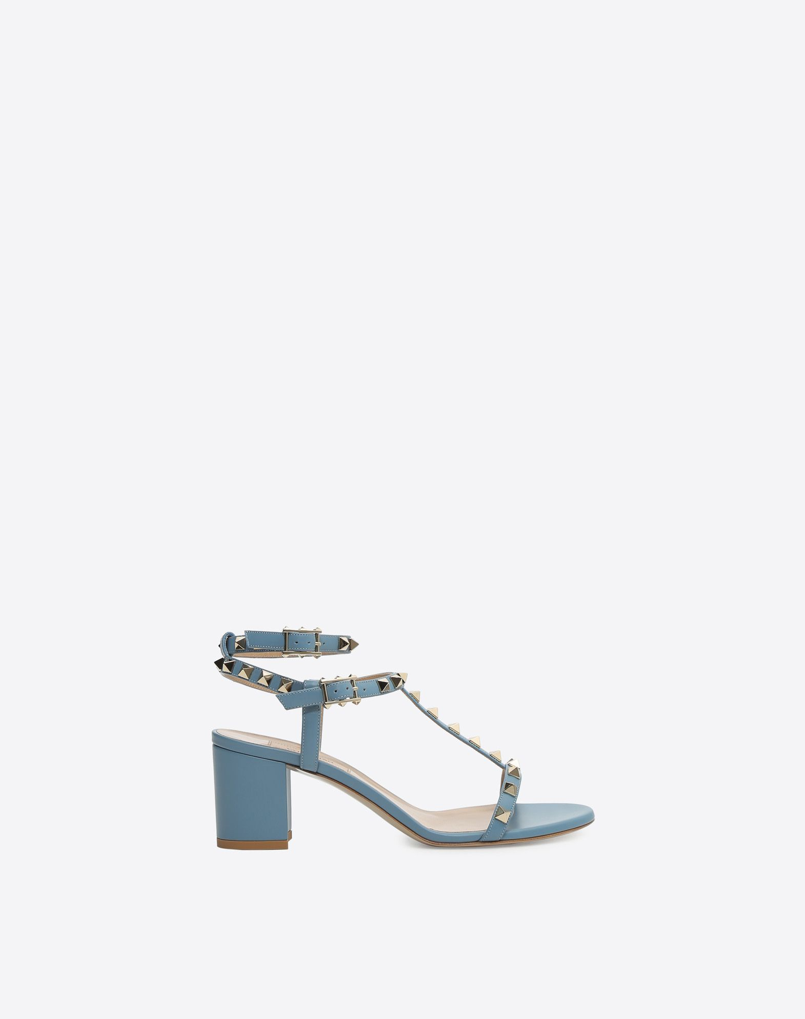 VALENTINO Studs Solid color Leather sole Buckle  45350278wp