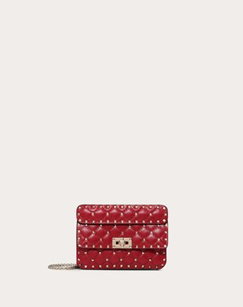 VALENTINO Shoulder bag D Rockstud Spike Small Chain Bag f