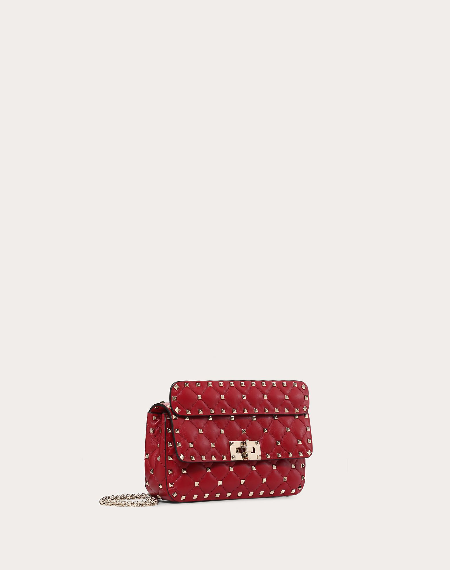 VALENTINO Rockstud Spike Small Chain Bag Shoulder bag D r