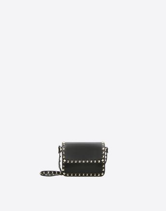 VALENTINO GARAVANI CROSS BODY BAG D Rockstud Spike Chain Bag f