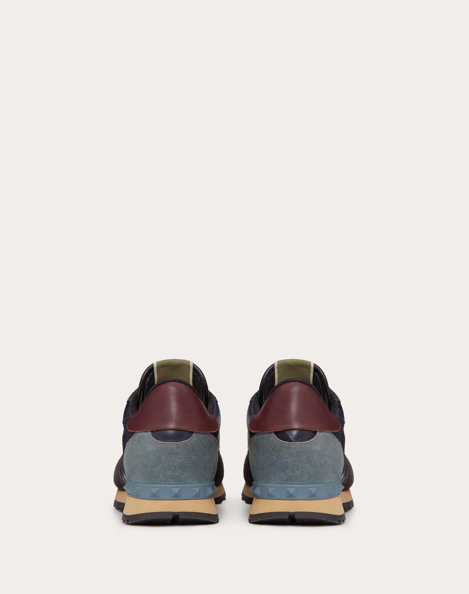 VALENTINO GARAVANI UOMO Camouflage Rockrunner Sneaker LOW-TOP SNEAKERS U d
