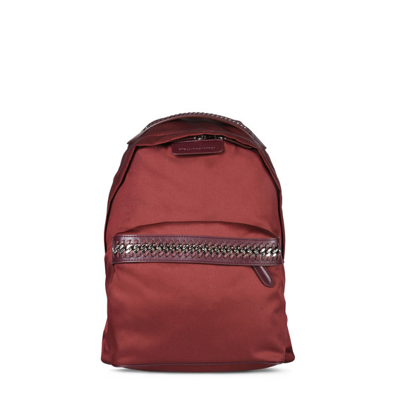 Burgundy Falabella GO Backpack