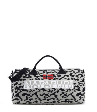 NAPAPIJRI BERING JACQUARD  TRAVEL BAG,GREY