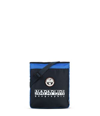 NAPAPIJRI HAPPY CROSS FLAT  CROSS BODY BAG,DARK BLUE