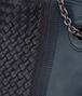BOTTEGA VENETA MITTLERE TOTE BAG AUS BESTICKTEM NAPPA IN KRIM DENIM Shopper D ep