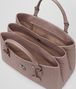 BOTTEGA VENETA MEDIUM ROMA BAG IN DESERT ROSE INTRECCIATO CALF Top Handle Bag Woman dp