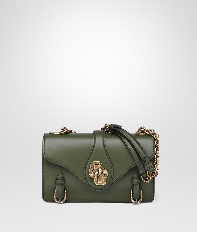 BOTTEGA VENETA BORSA CITY KNOT IN VITELLO MOSS Shoulder Bag [*** pickupInStoreShipping_info ***] fp