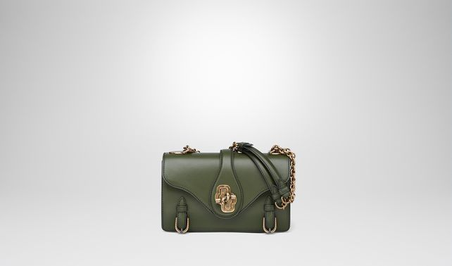 CITY KNOT BAG IN MOSS CALF