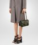 BOTTEGA VENETA CITY KNOT BAG IN MOSS CALF Shoulder or hobo bag Woman ap