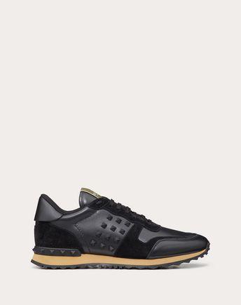 VALENTINO GARAVANI UOMO LOW-TOP SNEAKERS U Rockstud Sneaker f