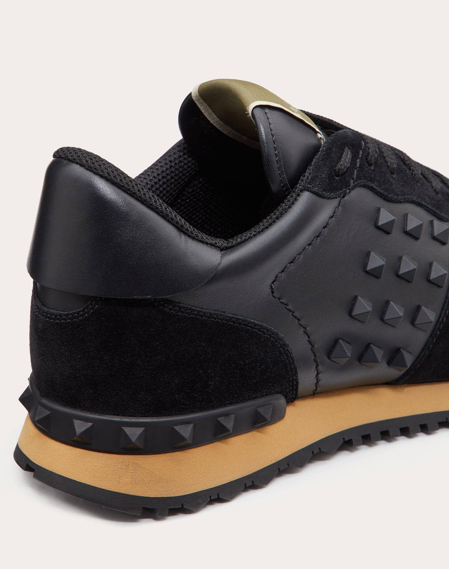 VALENTINO GARAVANI UOMO Rockstud 运动鞋 LOW-TOP SNEAKERS U a