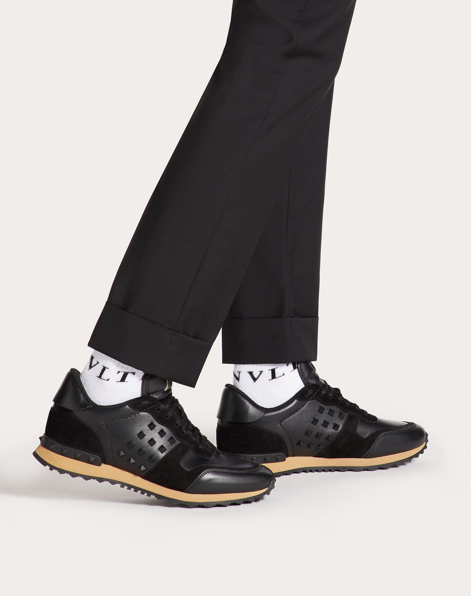 VALENTINO GARAVANI UOMO Rockstud 运动鞋 LOW-TOP SNEAKERS U b