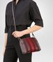BOTTEGA VENETA MESSENGER BAG IN GLICINE BAROLO EMBROIDERED NAPPA LEATHER, INTRECCIATO DETAILS Crossbody bag D ap