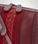 BOTTEGA VENETA MESSENGER BAG IN GLICINE BAROLO EMBROIDERED NAPPA LEATHER, INTRECCIATO DETAILS Crossbody bag D ep