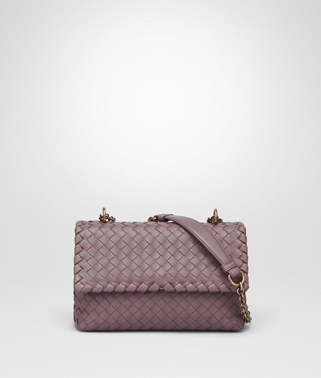 BOTTEGA VENETA BABY OLIMPIA BAG IN GLICINE INTRECCIATO NAPPA LEATHER Shoulder or hobo bag D fp