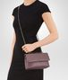 BOTTEGA VENETA BABY OLIMPIA BAG IN GLICINE INTRECCIATO NAPPA Shoulder Bags Woman ap