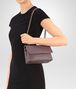 BOTTEGA VENETA BABY OLIMPIA BAG IN GLICINE INTRECCIATO NAPPA LEATHER Shoulder Bag Woman lp