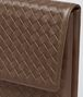 BOTTEGA VENETA DOCUMENT CASE IN DARK CALVADOS INTRECCIATO VN Small bag U ep