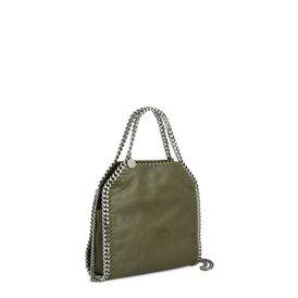 Olive Falabella Shiny Dotted Mini Tote