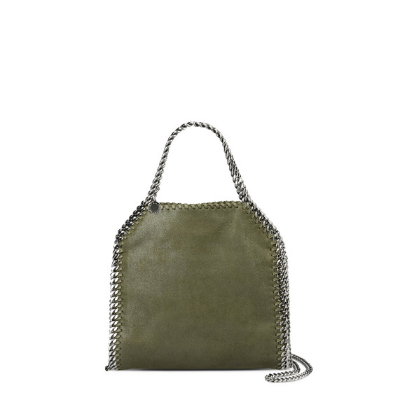 Olive Falabella Shiny Dotted Mini Tote