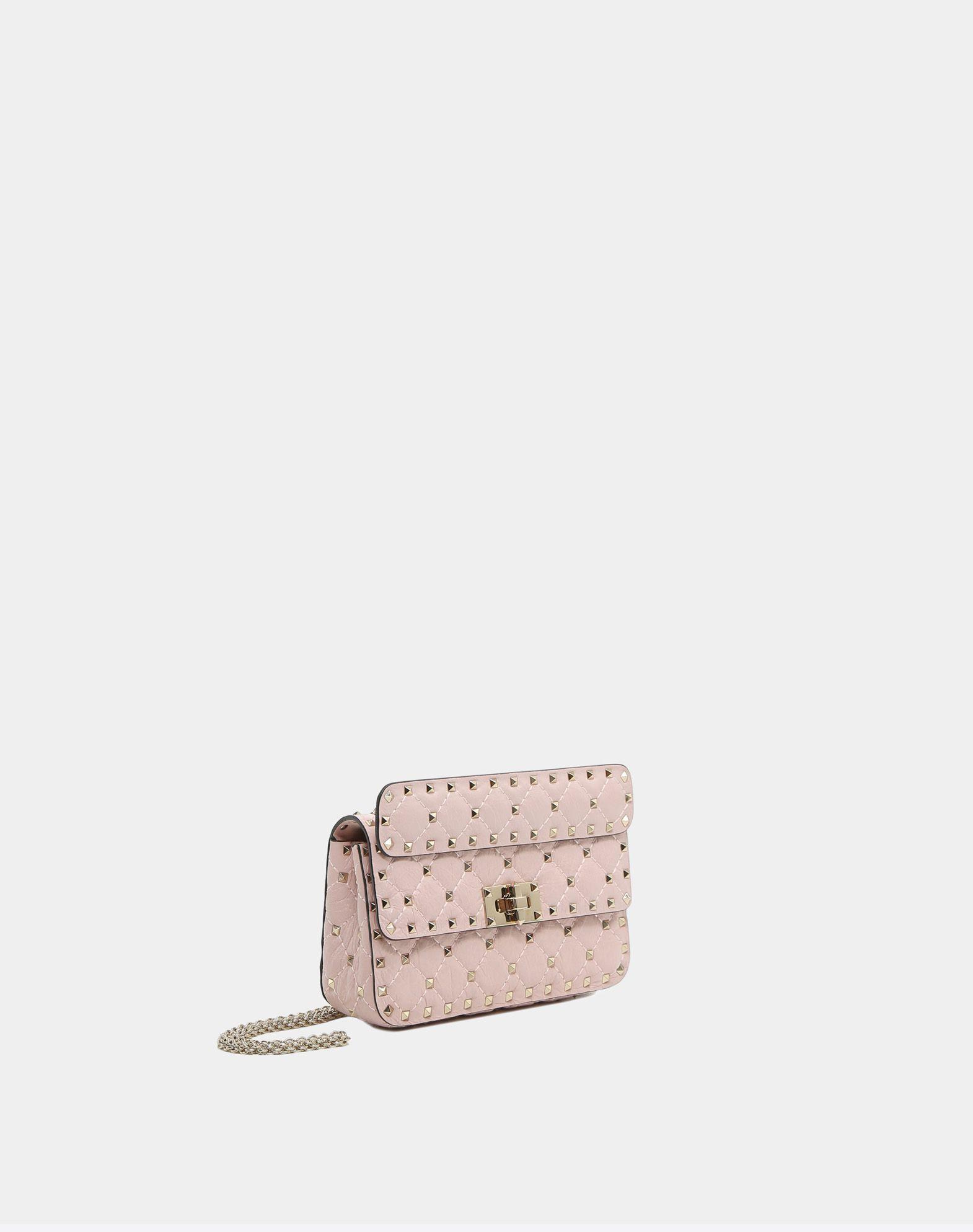 VALENTINO GARAVANI Rockstud Spike Small Chain Bag Shoulder bag D r