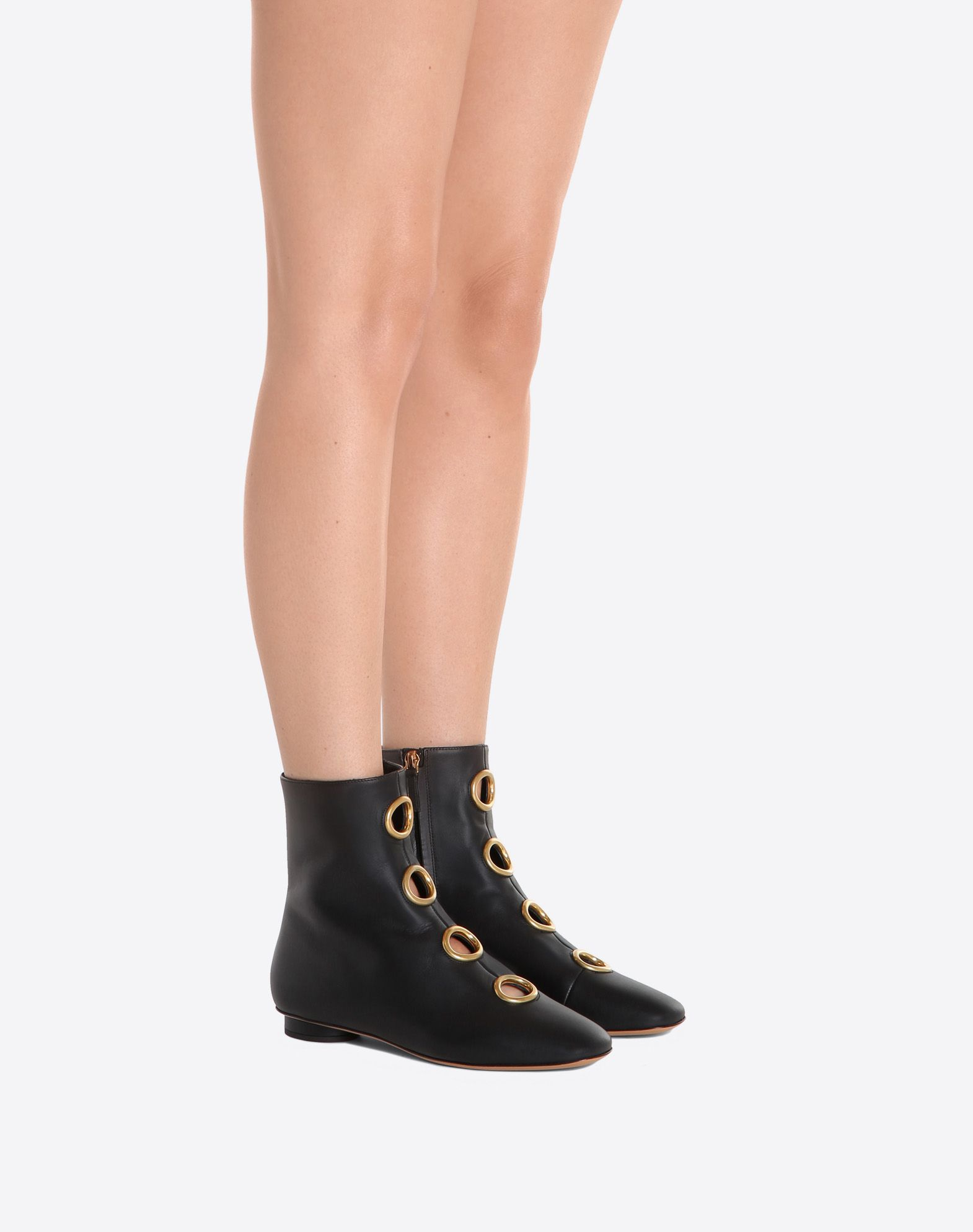 Valentino Garavani eyelet boots Cheap Sale Best Prices Clearance 2018 Sale Factory Outlet Cheap Genuine 07nTe