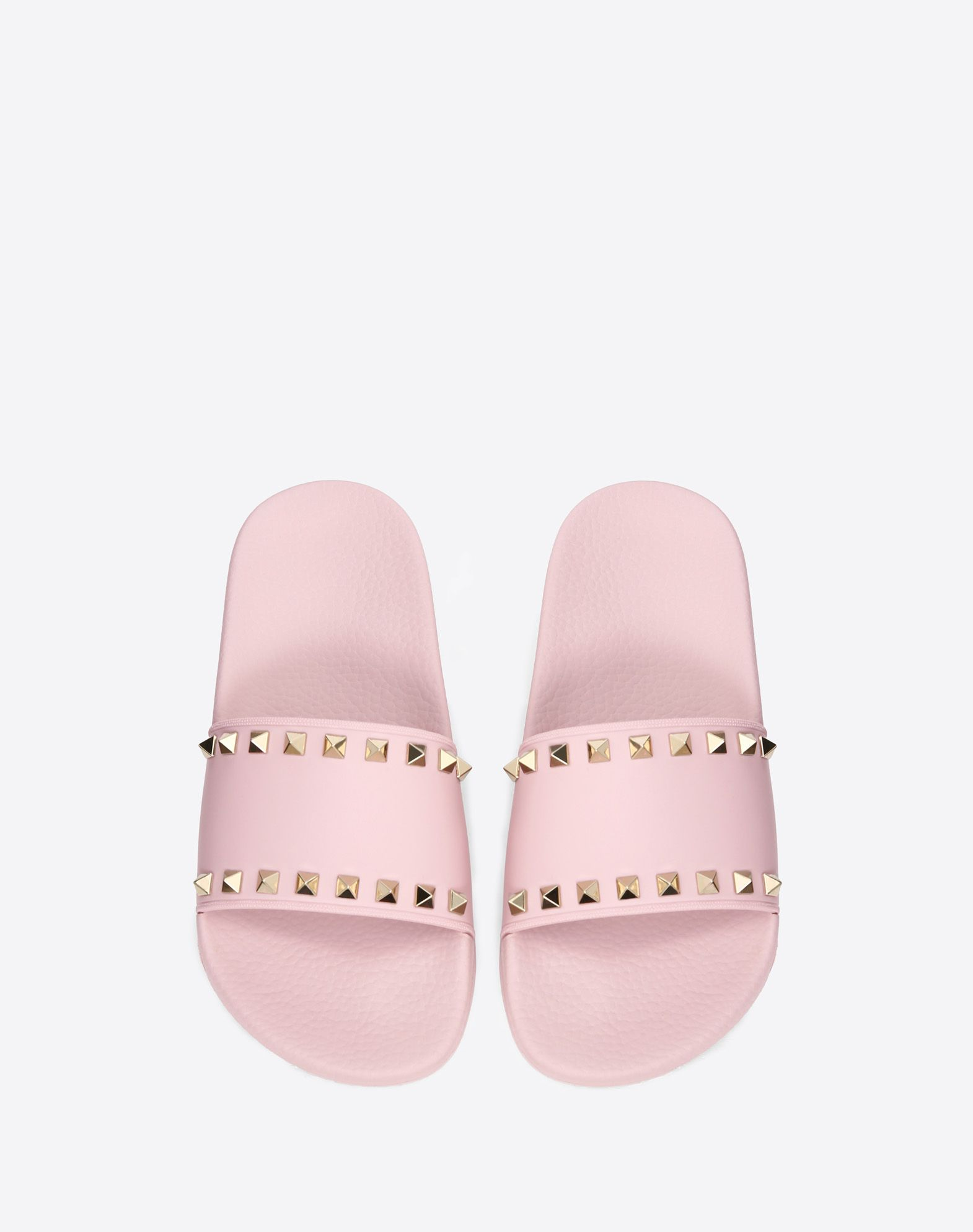 VALENTINO Studs Solid color Round toeline Rubber sole  45351434mh