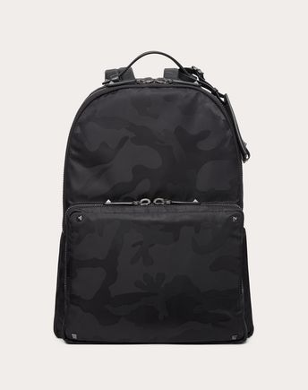 VALENTINO GARAVANI UOMO Backpack U Camouflage Backpack f
