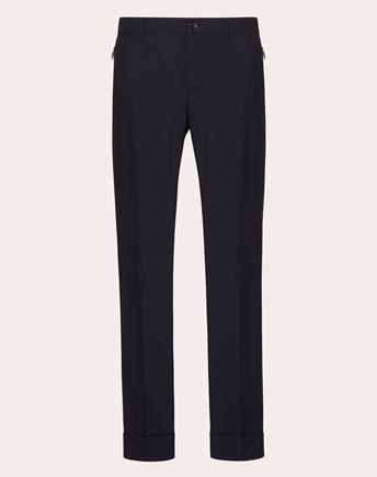 VALENTINO UOMO Trousers U Overdyed check trousers f