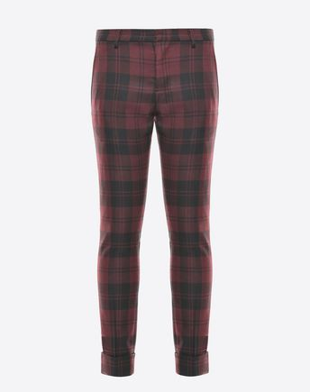 VALENTINO Overdyed check pants 45351629RN
