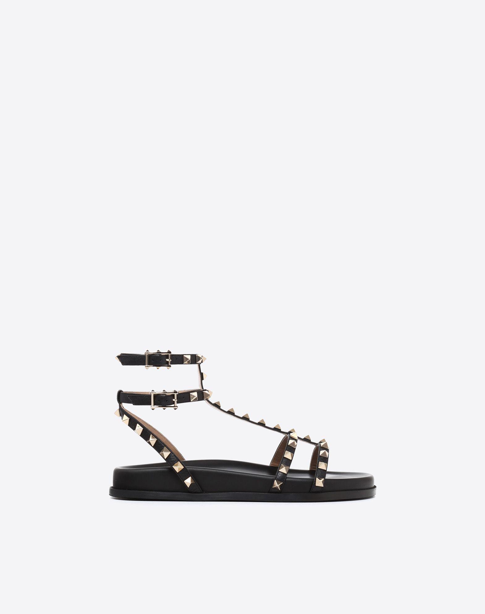 VALENTINO GARAVANI Rockstud Low Sandal Sandal D f