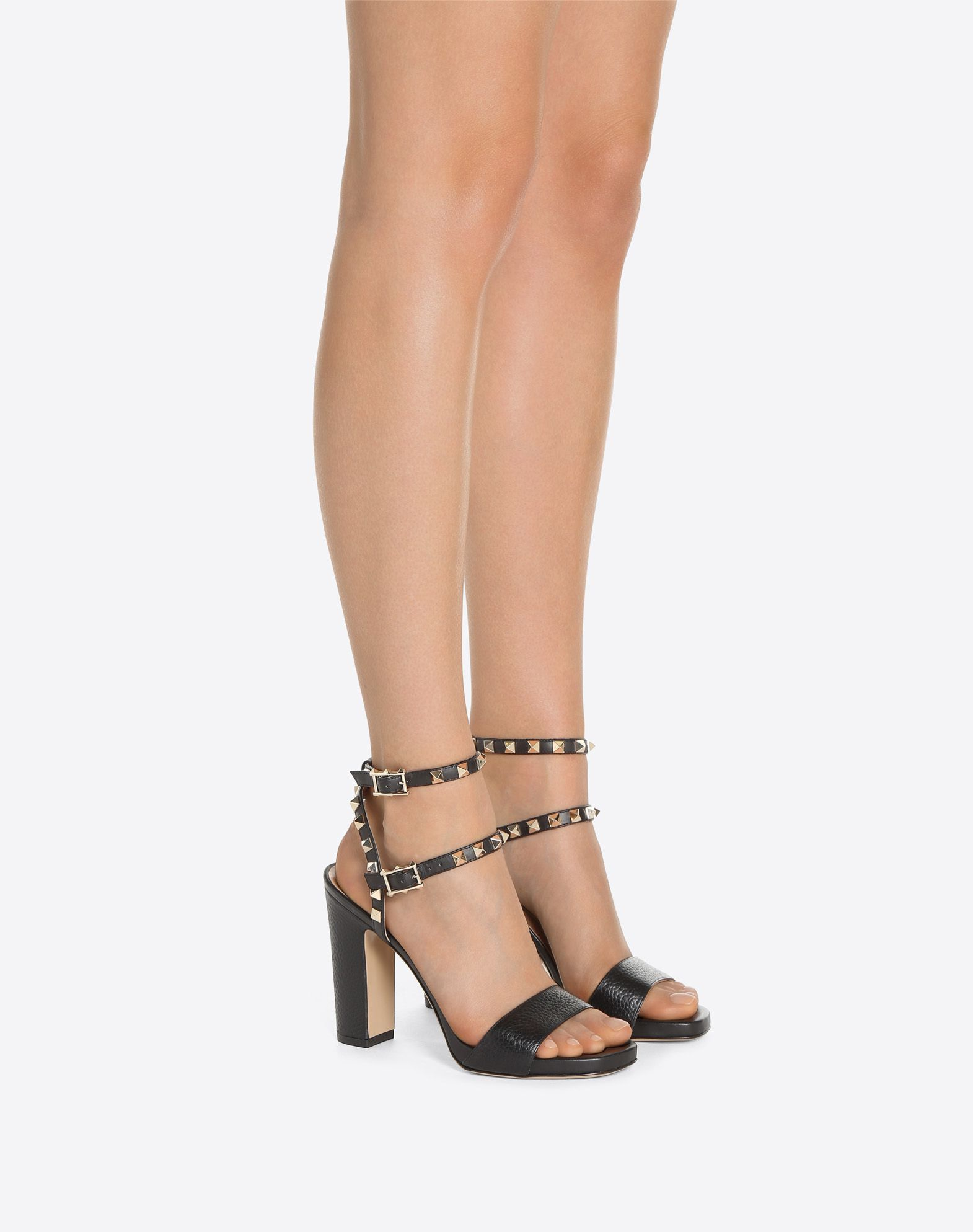 VALENTINO GARAVANI Rockstud Sandal HIGH HEEL SANDALS D a
