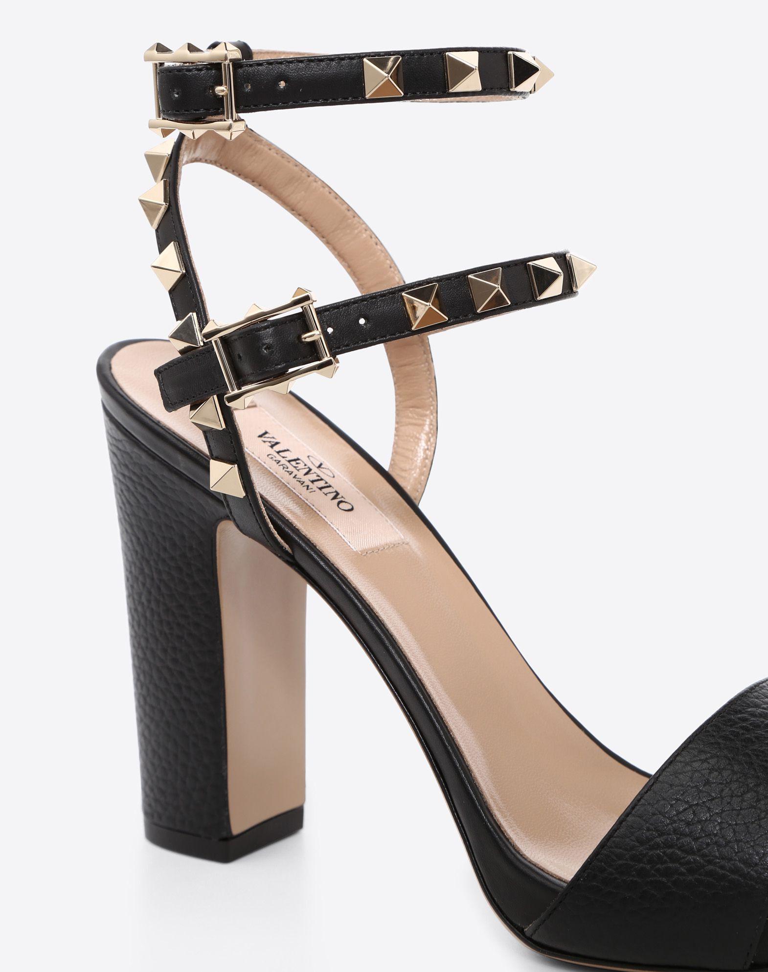 VALENTINO GARAVANI Rockstud Sandal HIGH HEEL SANDALS D b