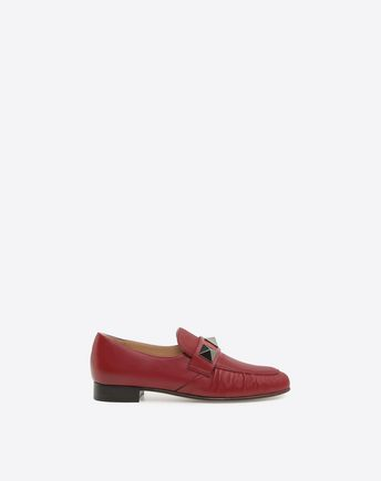 VALENTINO Macro Studs-Detail Loafer 45351647RT