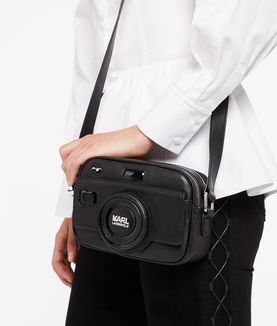 KARL LAGERFELD K/PHOTO CAMERA CROSSBODY