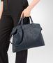 BOTTEGA VENETA MEDIUM CONVERTIBLE BAG IN DENIM INTRECCIATO NAPPA LEATHER Top Handle Bag D ap