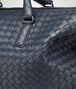 BOTTEGA VENETA BORSA CONVERTIBLE MEDIA IN INTRECCIATO NAPPA DENIM Borsa a Mano Donna ep
