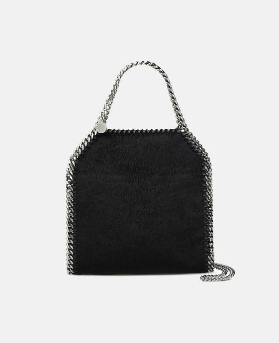STELLA McCARTNEY Black Falabella Alter Pony Mini Tote Mini Bags D c