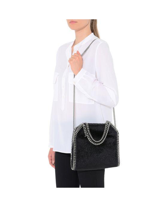 STELLA McCARTNEY Black Falabella Alter Pony Mini Tote Mini Bags D p