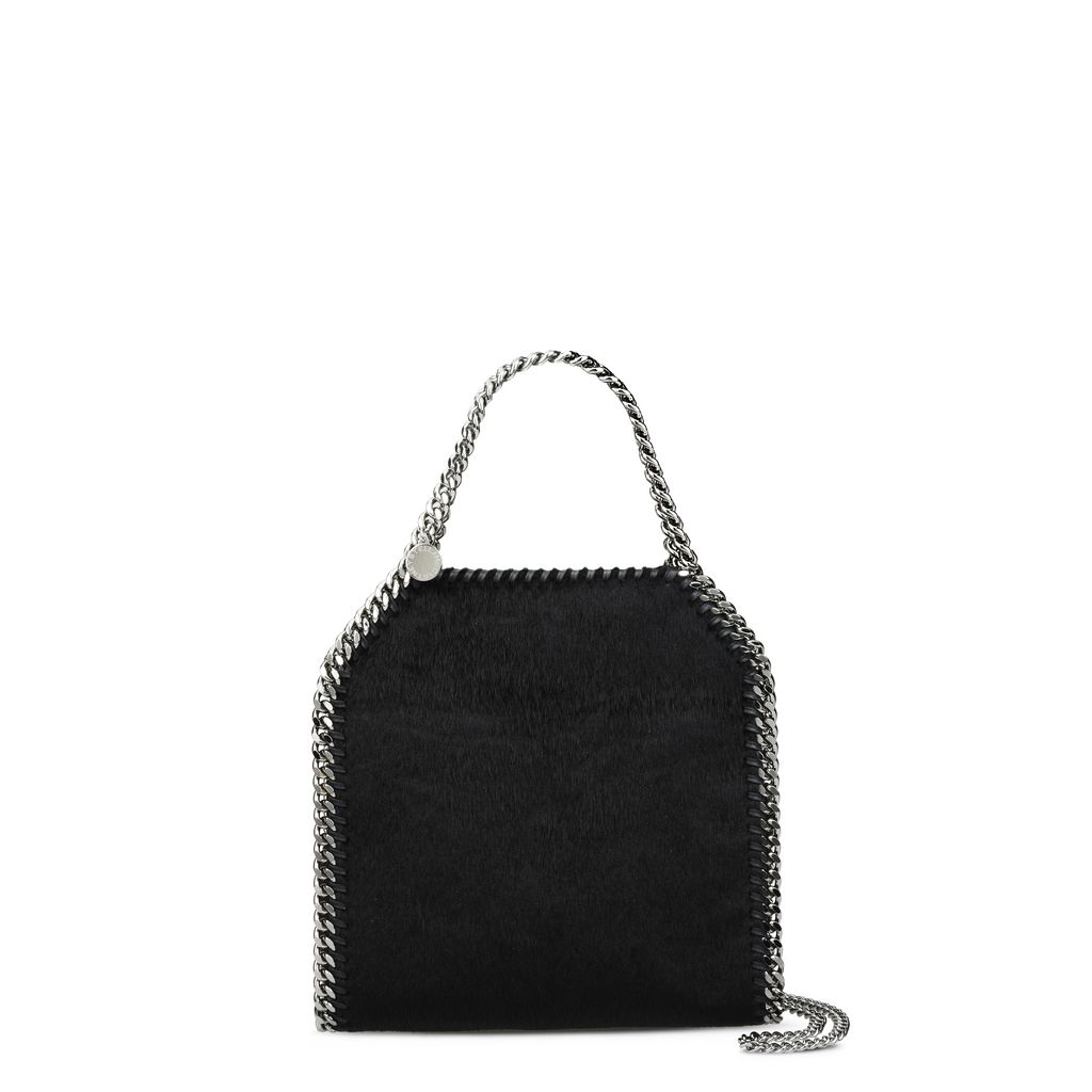 Black Falabella Alter Pony Mini Tote - STELLA MCCARTNEY