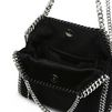 STELLA McCARTNEY Black Falabella Alter Pony Mini Tote Shoulder Bag D e