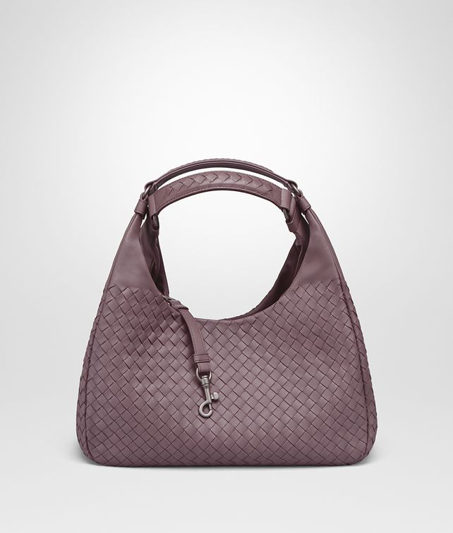 BOTTEGA VENETA MEDIUM CAMPANA BAG IN GLICINE INTRECCIATO NAPPA Shoulder or hobo bag D fp