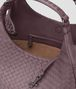 BOTTEGA VENETA MEDIUM CAMPANA BAG IN GLICINE INTRECCIATO NAPPA Shoulder Bag Woman dp
