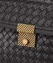 BOTTEGA VENETA SMALL MESSENGER BAG IN NERO INTRECCIATO NAPPA LEATHER Crossbody bag Woman ep