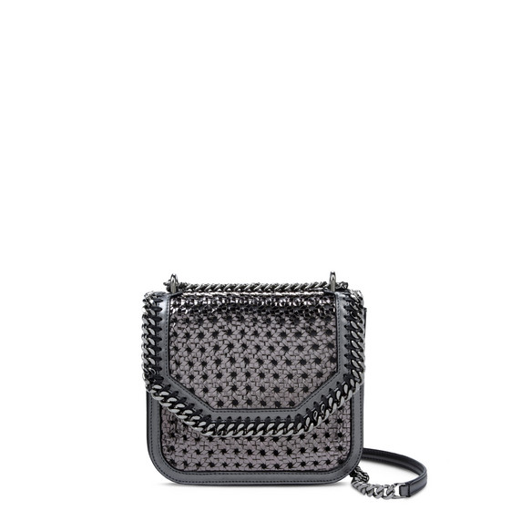 Borsa a Spalla Falabella Box Wicker Color Rutenio