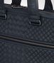 BOTTEGA VENETA BRIEFCASE IN PRUSSE INTRECCIO AURELIO CALF, EMBROIDERY DETAIL Business bag Man ep