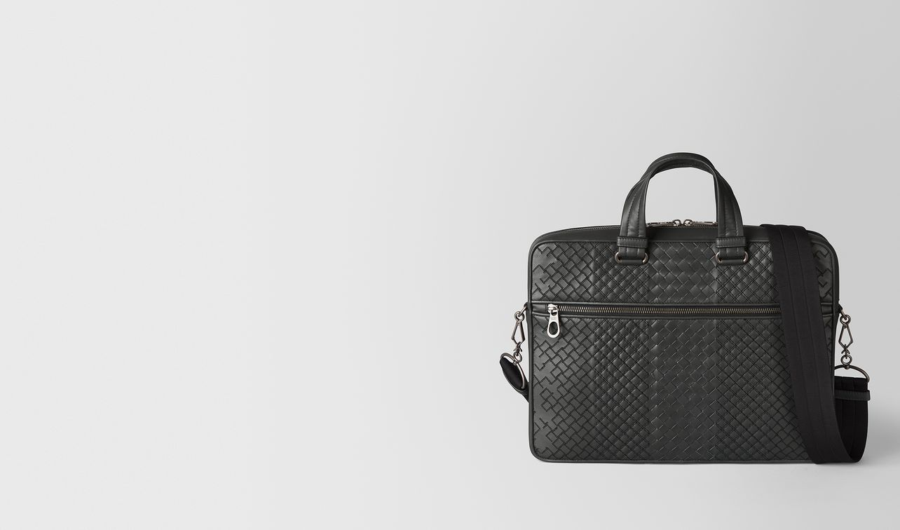 borsa business in intreccio aurelio vitello ardoise landing