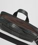 ardoise intrecciato aurelio calf briefcase Back Portrait
